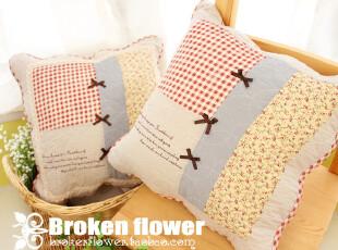 外贸全棉可爱时尚护腰沙发靠垫套抱枕套靠背垫午睡枕靠枕靠垫蝴蝶,靠垫,