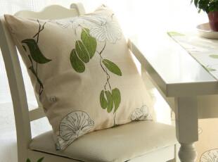 奢华软装 高档加厚天竺棉 活性印染 【兰】系列 靠垫 抱枕 靠枕,靠垫,