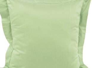 双拼靠垫 美宜天然家纺 ★绿 全棉时尚纯色靠垫/靠背/抱枕 正品,靠垫,