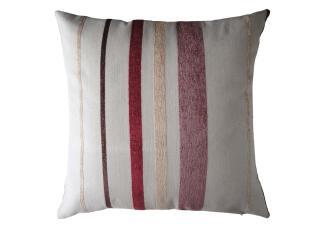 米勒条纹雪尼尔绒提花布艺沙发床头靠垫套靠枕套抱枕套不含芯,靠垫,