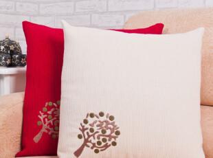 床头大靠垫套特价可爱办公室靠枕套 沙发抱枕套 新潮时尚许愿树,靠垫,