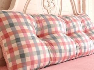 韩版公主全纯棉床头大靠垫/靠枕/床头大靠背(含芯)多尺寸可定制,靠垫,