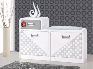 优居家具烤漆白色 超薄鞋柜小 现代简约田园创意门厅柜玄关柜2-92,鞋柜,