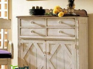 比邻乡村 美式欧式 美克美家 地中海风格 实木家具定制 鞋柜,鞋柜,