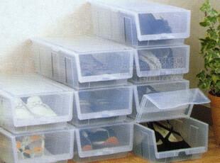 日本进口FUDO 鞋子收纳盒 鞋架 鞋盒 鞋子防尘箱 附干燥剂 F-2124,鞋柜,