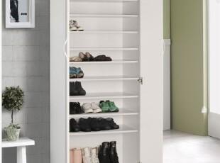特价大容量活动隔层双门鞋柜 鞋柜 鞋架 多用柜子 储物柜,鞋柜,