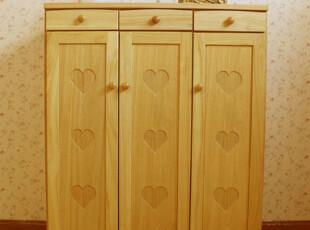 实木家具鞋柜 多功能收纳柜 储物柜,鞋柜,
