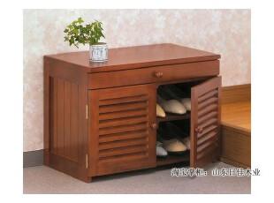 【出口外贸家具】实木特价鞋柜、门厅换鞋凳、有抽屉小型储物柜,鞋柜,
