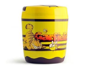 正品 加菲猫蜜糖保温餐桶 便当盒 饭盒 餐具 配汤勺,饭盒,