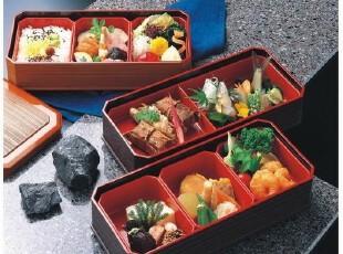 新款双层便当盒/寿司盒/点心盒/日式餐盒,饭盒,