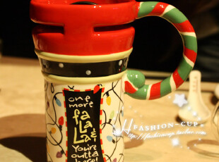 仟度正品创意彩绘马克杯 带盖陶瓷杯子 可爱水杯奶牛杯 情侣杯子,马克杯,