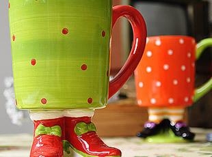 陶瓷 马克杯 水杯 杯子 我有一个高跟鞋的梦,马克杯,
