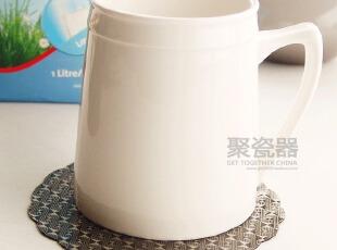 SANGO 情侣马克杯(无logo)西餐餐具 奶桶杯 黑白色,马克杯,