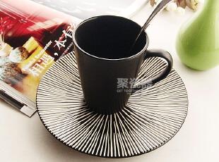 出口餐具 陶瓷杯碟套装 西餐餐具 早餐餐具 马克杯 奶杯 餐盘,马克杯,