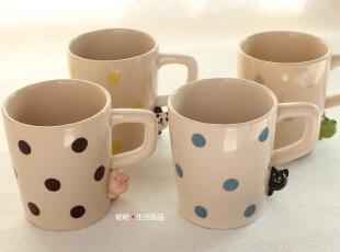 ZAKKA日本原单可爱陶瓷卡通杯子 马克杯 咖啡杯,马克杯,