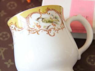 【长物志】Sing黄色莺歌新骨瓷奶杯马克杯咖啡杯水杯,马克杯,