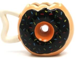 美国代购 超级无敌可爱的甜甜圈 马克杯 水杯,马克杯,