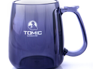 tomic正品进口亚克力时尚马克杯彰显气质 送男友杯子 400ML 包邮,马克杯,
