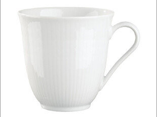瑕疵特价 瑞典皇家Rorstrand罗斯兰Mug麦穗系马克杯/茶杯 白300ml,马克杯,