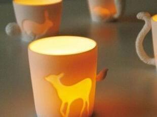 动物森林 奇幻之旅 日本KINTO童话动物杯子 陶瓷马克杯咖啡杯水杯,马克杯,