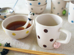 【PLAZA乐活市集】zakka日本同步杂货 晒太阳的小动物 马克杯sale,马克杯,