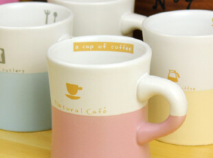 咖啡物语 创意杯子 咖啡杯 陶瓷杯 情侣杯 马克杯 zakka 杯,马克杯,