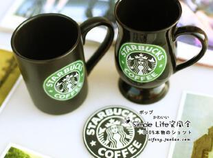 2012星巴克杯子正品原创意复古马克杯水杯手绘陶瓷杯子奶茶杯套装,马克杯,