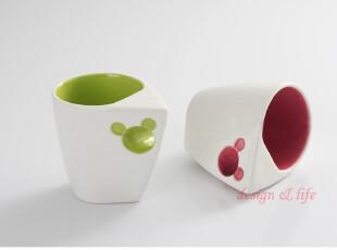 品牌原单 迪斯尼时尚 创意 造型米奇老鼠卡通水杯 马克杯 咖啡杯,马克杯,