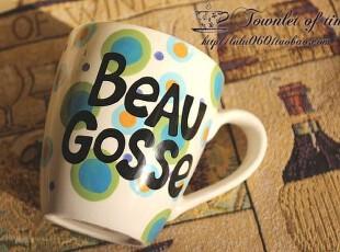 满150包邮  夏日的池塘 马克杯 水杯 咖啡杯 外贸陶瓷,马克杯,