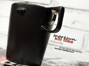 Kill...time。硬汉。金属感 陶瓷杯 马克杯 咖啡杯 男友礼物,马克杯,