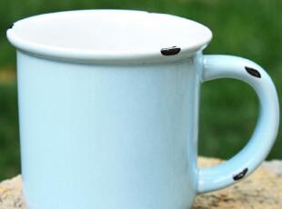 小北家-CH185 陶瓷 仿搪瓷 杯子 马克杯 可爱儿童杯 迷你小水杯,马克杯,