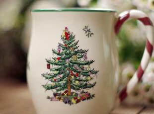 Spode圣诞树/牛奶白色/热巧克力杯/马克杯,马克杯,