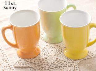 【11st】陶瓷马克杯 糖果奶油色水杯牛奶杯早餐杯 zakka日式杂货,马克杯,