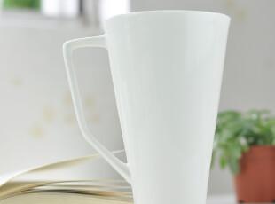 纯白骨瓷杯 马克杯 水杯 大容量杯 简单的畅想,马克杯,