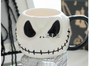 迪士尼Disney 出口原单 骷髅头杰克经典纪念卡通马克杯水杯儿童杯,马克杯,