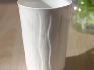 原单纯白马克杯咖啡杯水杯情侣杯创意杯子浮雕骨瓷杯陶瓷杯可带盖,马克杯,