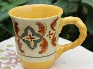 【A grass】外贸陶瓷手绘立体浮雕冷.艳系列马克杯、咖啡杯、杯子,马克杯,