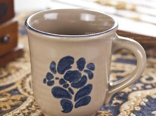 欧美外贸 精品陶瓷餐具 欧洲名品 蓝墨水杯 茶杯 奶茶杯 马克杯子,马克杯,