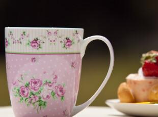 骨瓷杯 马克杯 陶瓷杯子 情侣杯 花解语-初见,马克杯,