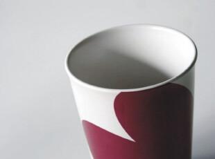 瑞典设计 宜家风格 爱心陶瓷水杯|马克杯 8x12cm,马克杯,