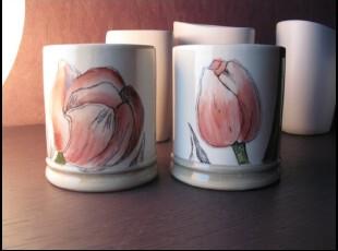 郁金香 外贸出口 现代简约 经典设计 咖啡杯 水杯 陶瓷杯 马克杯,马克杯,