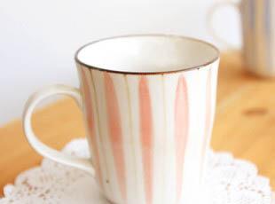 特价zakka 陶瓷 日式杂货 和风手绘杯 陶瓷水杯 波浪感马克杯创意,马克杯,