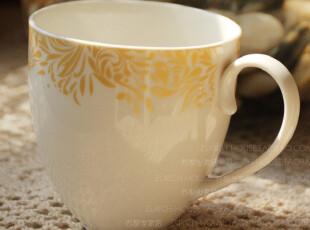 陶瓷马克杯 菲文斯 新骨瓷水杯 茶杯 咖啡杯 办公水杯 五折特价,马克杯,