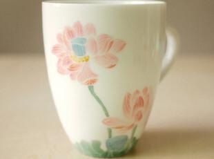 饰物志|浮生莲香 杯子 马克杯 茶杯 手制陶瓷 日用生活陶瓷 礼品,马克杯,