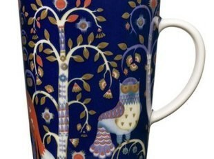 芬兰iittala taika魔幻森林系列 蓝色马克杯,马克杯,
