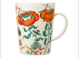 芬兰Iittala Korento 荷塘飞舞暖色 马克杯/咖啡杯 018386 实拍图,马克杯,