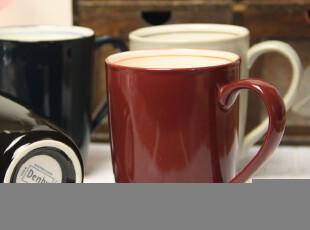 自在生活 zakka 外贸出口DENBY 新骨瓷 纯色马克杯 咖啡杯 四色选,马克杯,