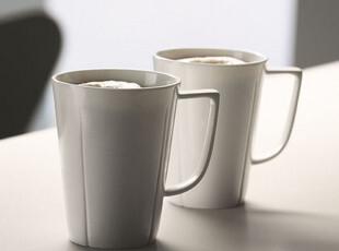 丹麦进口Rosendahl 欧式高档骨瓷马克杯 340ml水杯咖啡杯2只装,马克杯,