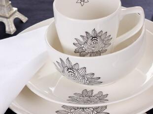 苏黎世家居 欧洲名品 精致陶瓷 马克杯 餐盘 汤碗 套装,马克杯,
