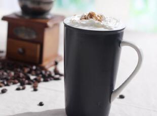 欧美名品 马克杯 水杯 咖啡杯 茶杯 黑色 16盎司 懒人情节 大水杯,马克杯,